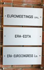 EUROMEETINGS SRL, ERA-EDTA, ERA-EUROCONGRESS Ltd