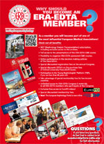 Renew your 2017 ERA-EDTA Membership!