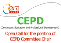 OPEN CALL FOR THE POSITION OF CEPD COMMITTEE CHAIR